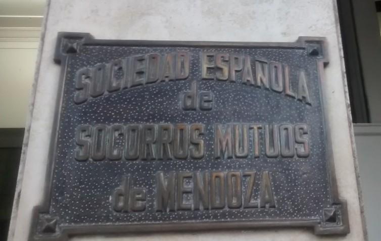 Placa Soc de SSMM de San Rafael
