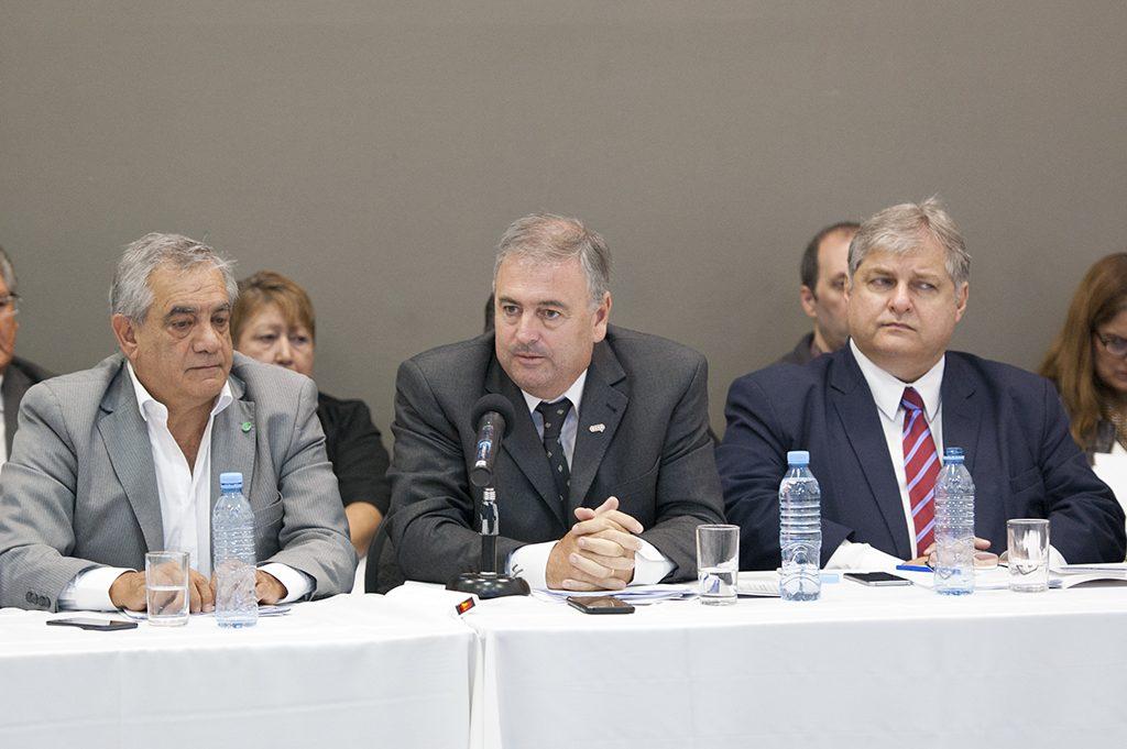 Dr. Carlos Iannizzotto -Dr. Ariel Guarco -Lic. Alejandro Russo
