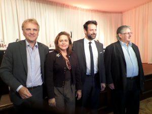 Alain Coheur- Dra. Elisa Torrenegra- Matthias Savignac - Narciso Carrizo