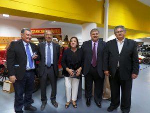 Parte de la delegación argentina