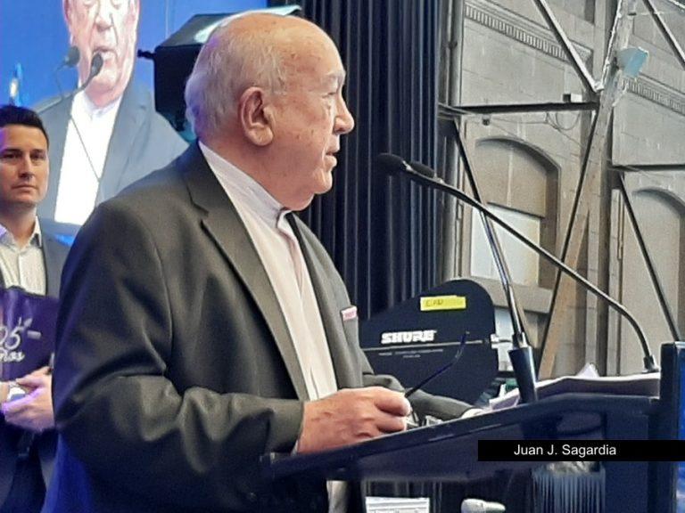 Juan J. Sagardia Presidente de Mutual Jerárquicos
