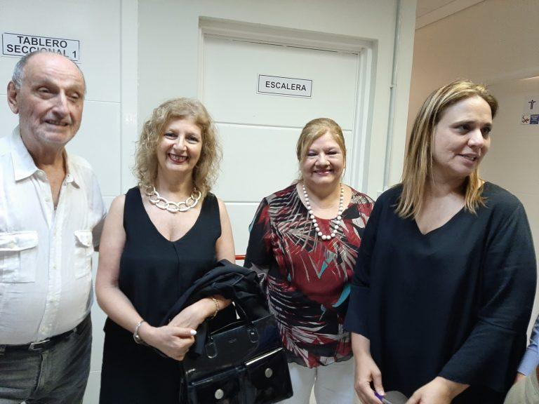 Inauguración Biblioteca Gabriela Agosto -Dr. Marcelo Collomb