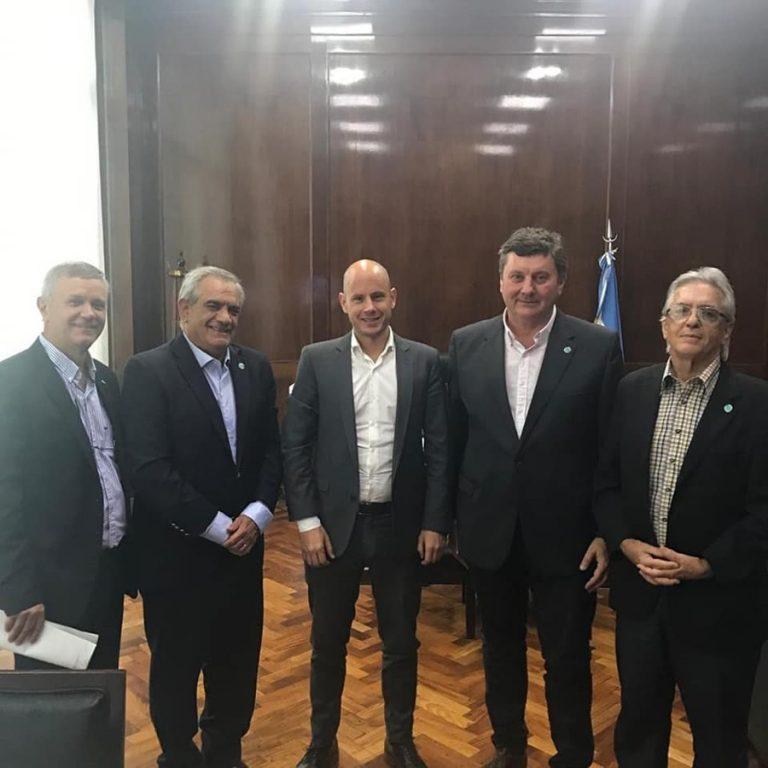 Coninagro con Orlando Stvass, con Ministro de Desarrollo Productivo de Nacion y Secretario de PYMES