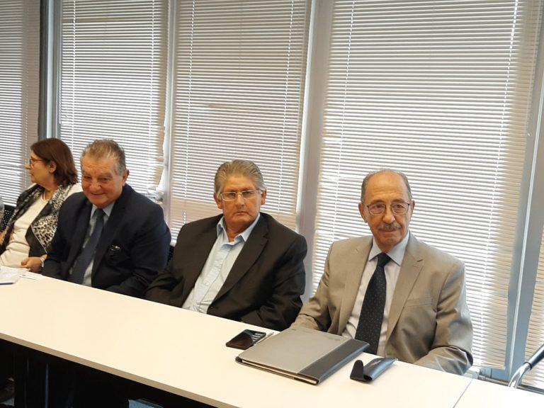 Lic. Héctor Acosta -Narciso Carrizo - Dr. José M. Garriga