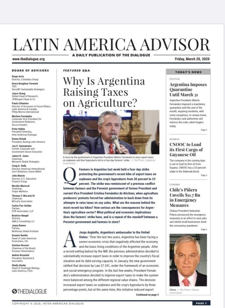 Latin American Advisor