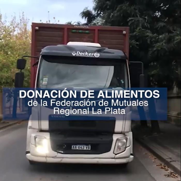 Camión de donaciones