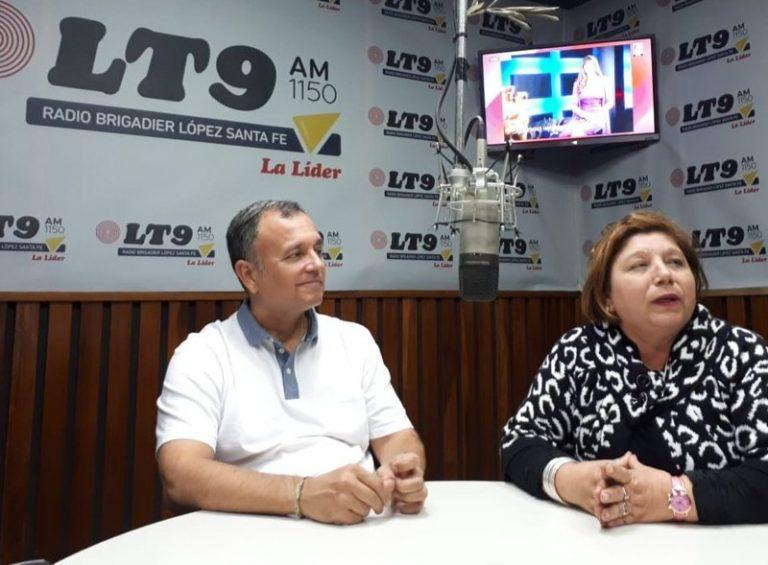 César Malato con Susana Bravo