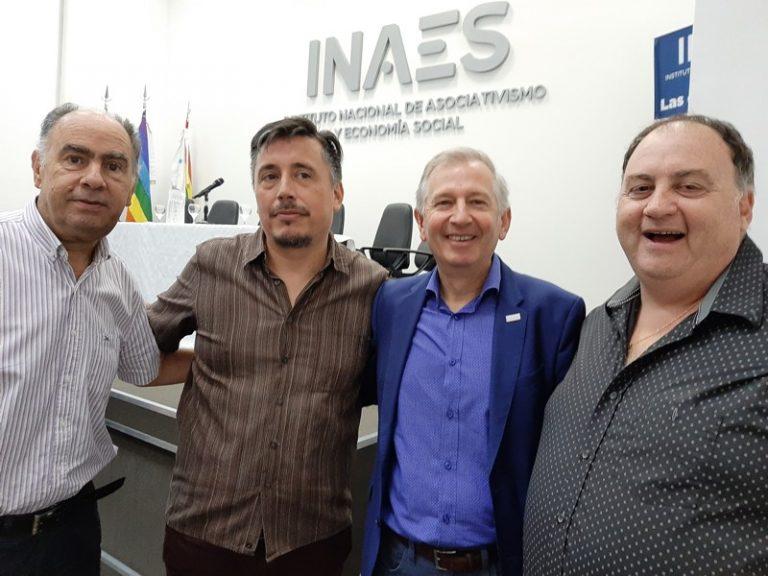 Ing. Cafiero- Ramiro Martínez-Ángel Echarren- Cristian Horton