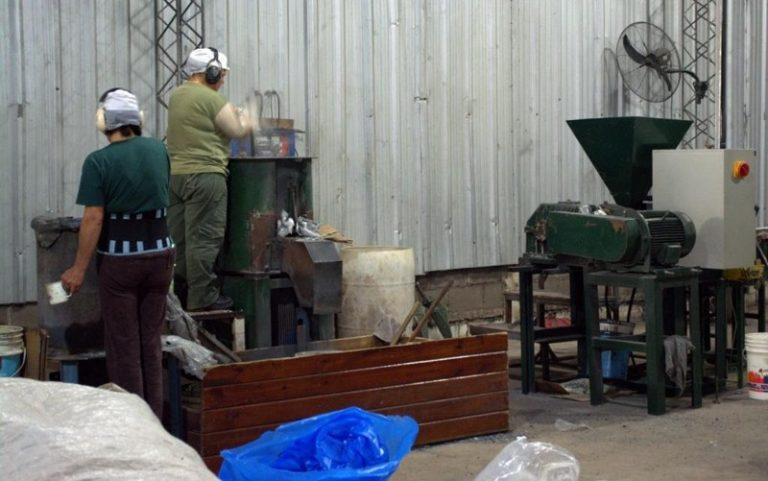 A planta de recuperado silo bolsa