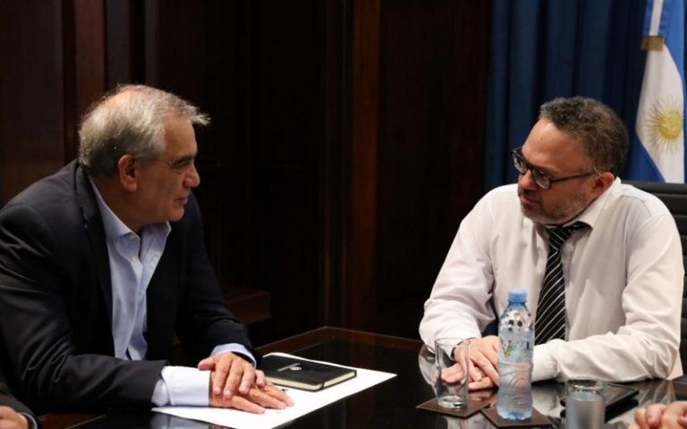 Dr. Carlos Iannizzoto- Ministro Matías Kulfas