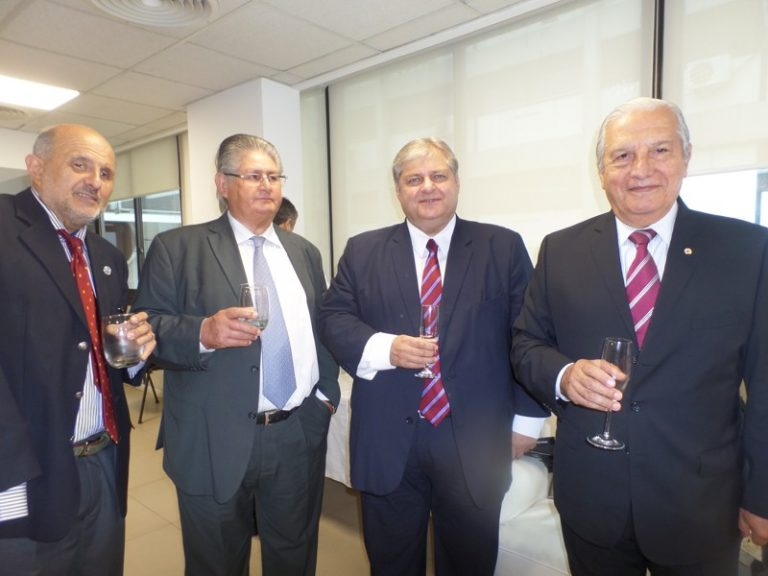 Gral. Br (R) Fabián Brown - Gral. Br. (R) Daniel Reimundes - Lic. Alejandro Russo- Cnl Int (R) Dr. José Guerrero