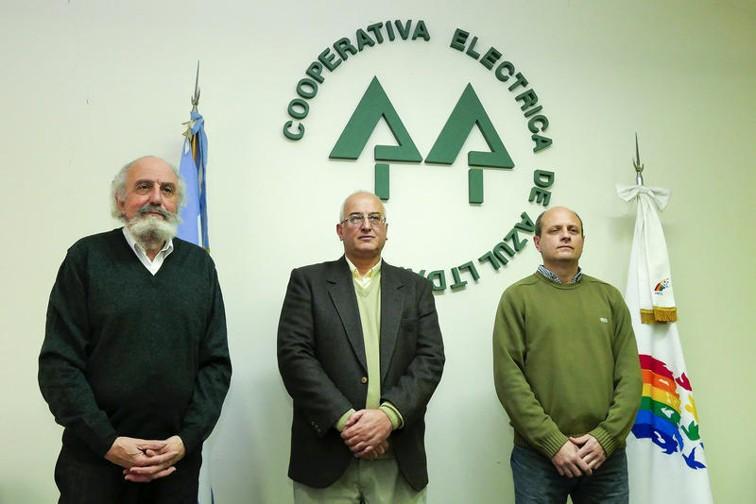 Ismael Santarcángelo, Mario Fossati y Juan Owen