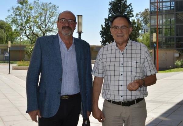 Luis Castillo y Omar Marro
