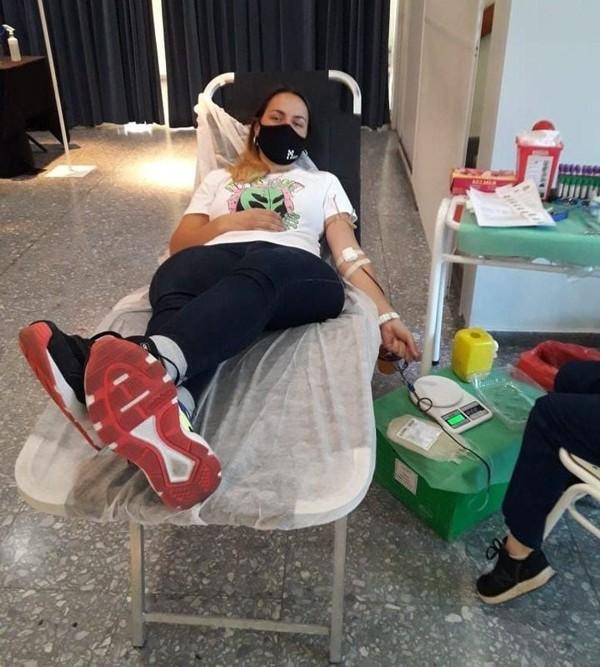 Campaña donar sangre