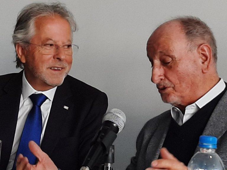 Dr. Luis Silva y Alfredo Sigliano