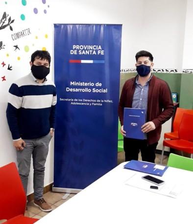 Carlos Monzón - Firma de Convenio