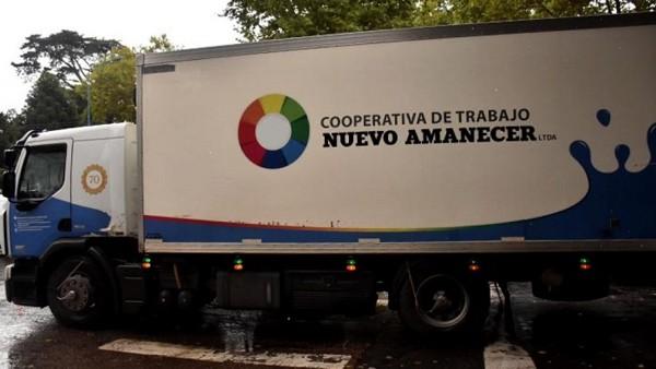 Camión Coop Nuevo Amanecer