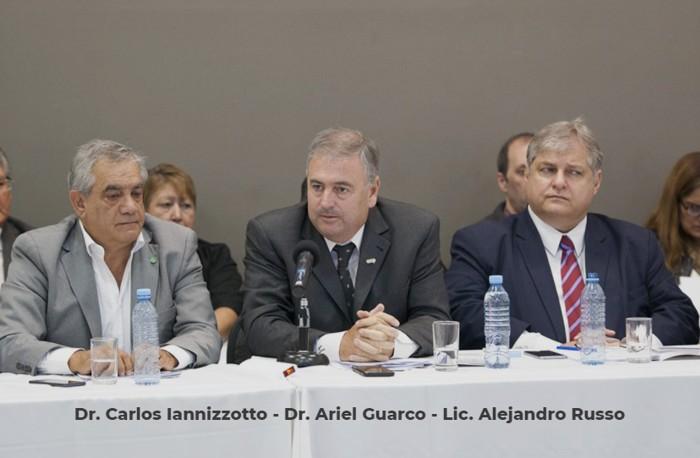 Dr. Carlos Iannizzotto - Dr. Ariel Guarco - Lic. Alejandro Russo