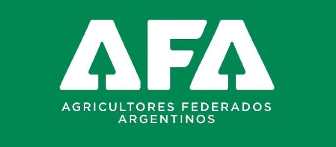 AFA logo fondo verde