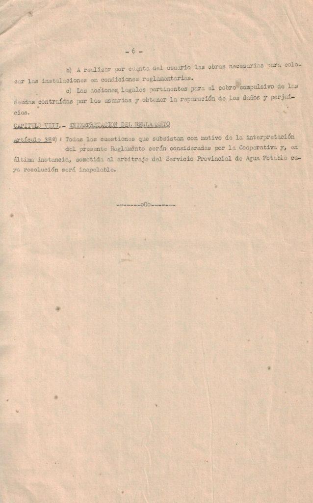 Reglamento de servicio pag. 6