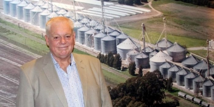 Alejandro Albertsen -Pte Coop. Agric. Cascallares