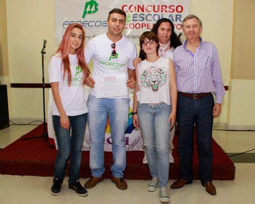 Angel Echarren con alumnos