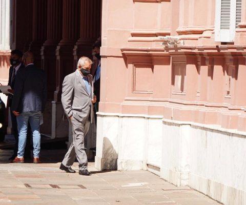 Dr. Carlos Iannizzotto en Casa Rosada