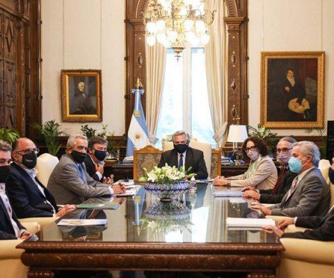 Reunión Campo con Presidente