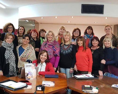 Mujeres Femucor en reunion